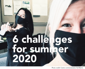 6 CHALLENGES FOR SUMMER 2020